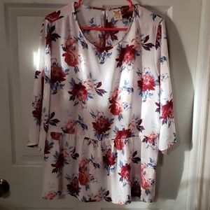Floral shirt Faded Glory